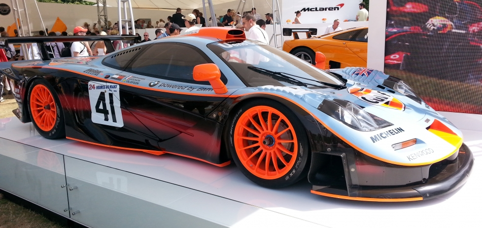 """McLaren F1 Davidoff Race Car"""