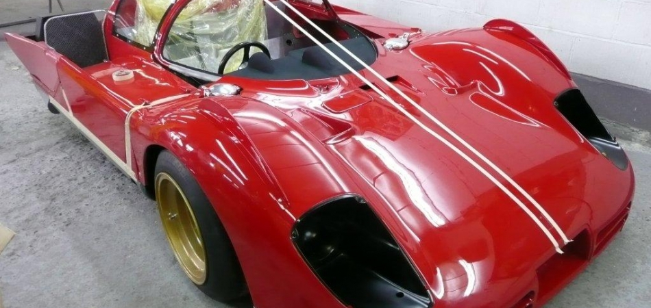"""Some of our work - A Ferrari 512 total restoration"""